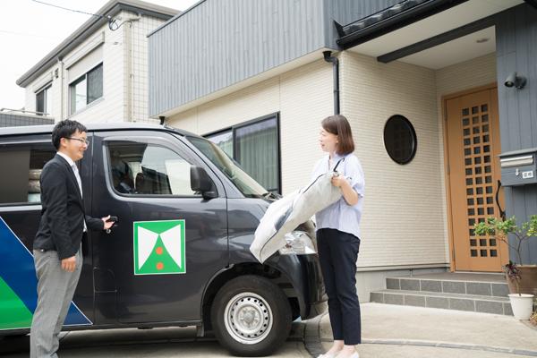 仙台の宅配クリーニングはクリーニングタカノ